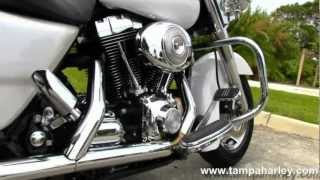 9. Used 2005 Harley-Davidson Road King Custom FLHRS For sale  with Python Exhaust
