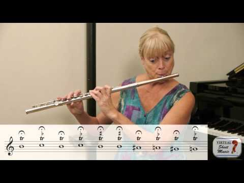 Great Flute Exercise for Trills