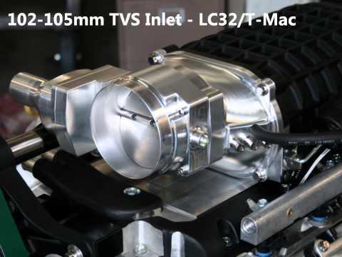 A street-legal 1,000 horsepower supercharged LSX