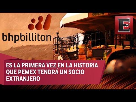 BHP Billiton, primer socio de Pemex en el campo Tríon