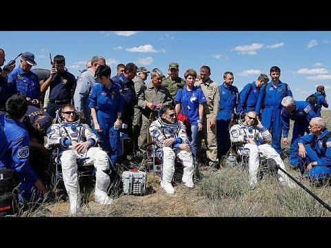Επιστροφή στη Γη για τρία μέλη του Διεθνούς ΔΙαστημικού Σταθμού