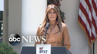 Video Being Melania - The First Lady Part 2: Melania Trump on her husband's tweets MP3, 3GP, MP4, WEBM, AVI, FLV Oktober 2018