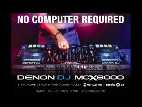 The All NEW Denon MCX8000 DJ Controller - #DenonDJ #NAMM2016 #MCX8000