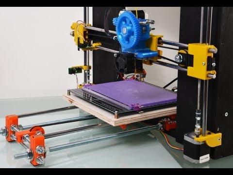 Scratchbuilt 3D Printer-  Reprap Prusa i3