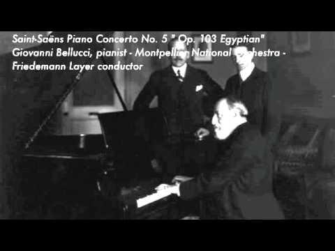 """Concerto pour piano et orchestre n° 5, dit """"L'égyptien"""" de Camille Saint-Saëns"""