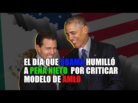 Peña Nieto critica el populismo; Barack Obama le responde que él es populista