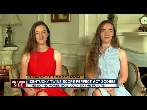 Kentucky twins score perfect ACT scores
