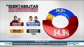 Video Survei Terbaru: Elektabilitas Jokowi-Ma'ruf Unggul Jauh MP3, 3GP, MP4, WEBM, AVI, FLV Juni 2019