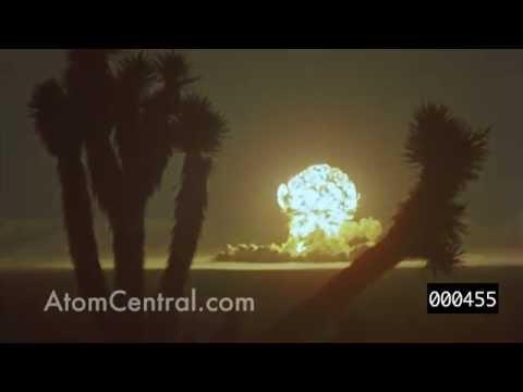 美內華達州原子彈試爆 影片首度曝光