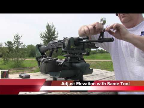 AK47 Variant - Caldwell Lead Sled DFT - Magna-Matic Defense AKFST AK-47 Front Sight Tool (видео)