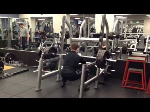 405 Front Squat for 2 reps