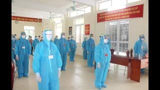 Diễn tập BC ĐBQH khóa XV và Đại biểu HĐND các cấp NK 2021-2026 trong điều kiện có dịch bệnh Covid-19