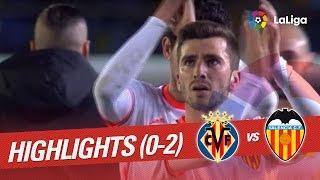 image of Resumen de Villarreal CF vs Valencia CF (0-2)