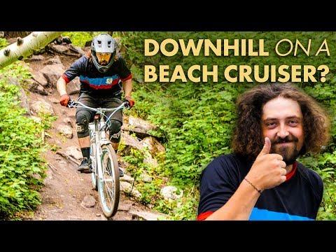 MOUNTAIN BIKING ON A BEACH CRUISER?