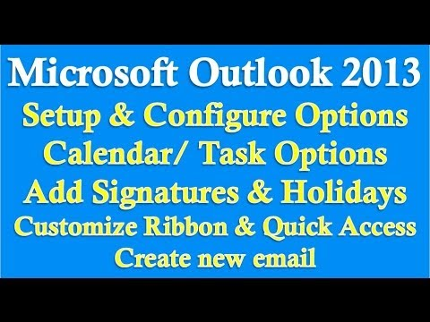 comment installer outlook 2013