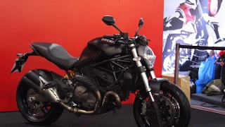 10. 2017 Ducati Monster 821 - Firstlook and walkaround India