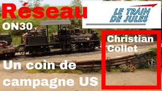 Un coin de Campagne US de Christian Collet