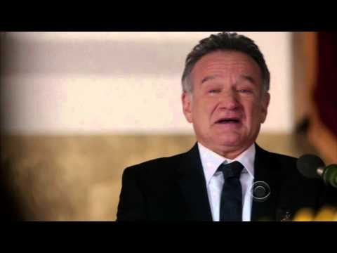 Robin Williams Funeral Scene   The Crazy Ones