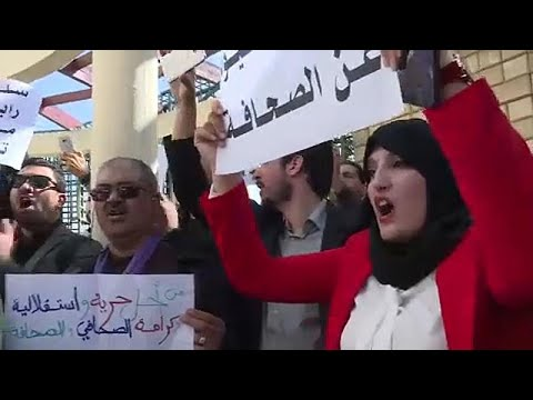 Algerien: Demonstrationen gegen Präsident Bouteflika (8 ...