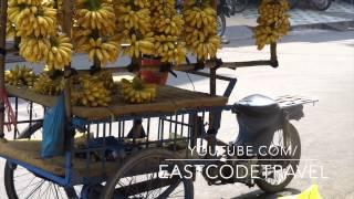 Banana Street Fruit Hawker Vietnam Street Food