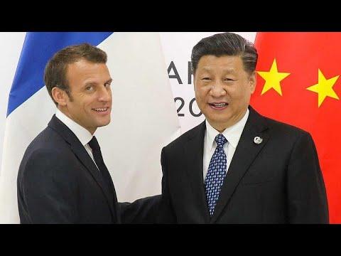 Στην Κίνα με εμπορικά θέματα στις αποσκευές του ο Εμανουέλ Μακρόν…