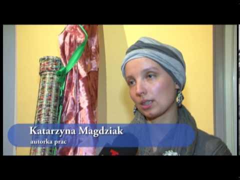 Papierowa wiklina Kasi Magdziak z Białegostoku