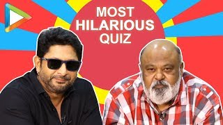 Video LAUGH RIOT: Arshad Warsi & Saurabh Shukla's BLOCKBUSTER Quiz | Fraud Saiyaan MP3, 3GP, MP4, WEBM, AVI, FLV Maret 2019