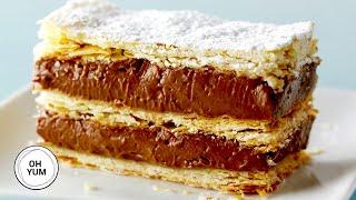 Video Chocolate Hazelnut Napoleon | Oh Yum with Anna Olson MP3, 3GP, MP4, WEBM, AVI, FLV Desember 2018