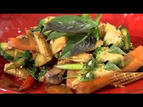 Watch recipe: Thai Stir Fried Vegetables with Basil