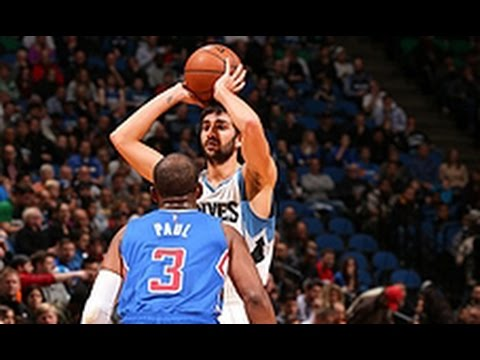Video: Battle of the Guards: Ricky Rubio and Chris Paul Go Head to Head