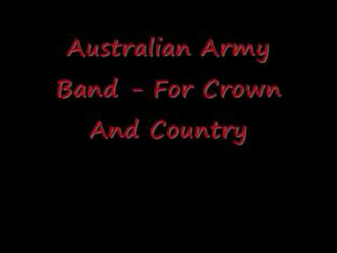 Australian Army Band - For Crown And Country