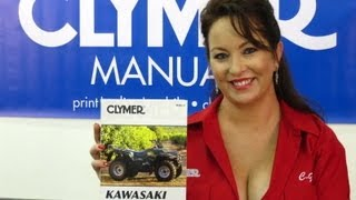 9. Clymer Manuals Kawasaki Bayou Manual KLF300 Manual KLF Manual Kawasaki ATV Manual Video