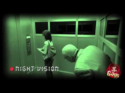 如果電梯停電突然又多出一個人,你會 !?