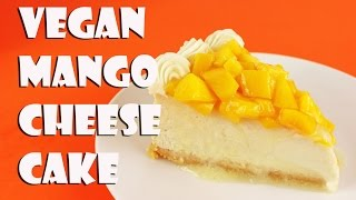Vegan Mango Cheesecake || Gretchen's Bakery by Gretchen's Bakery
