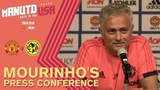 Video Jose Mourinho Press Conference | Manchester United v Club America | USA Tour 2018 Live on MUTV MP3, 3GP, MP4, WEBM, AVI, FLV Juli 2018