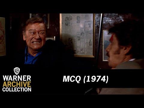 John Wayne Kicking Ass   McQ   Warner Archive