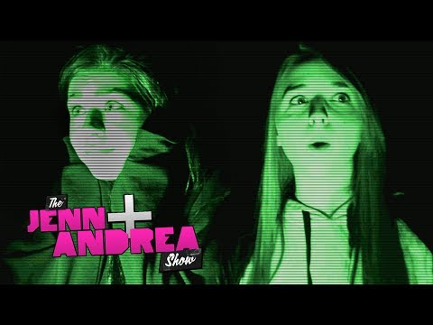 andrea - Andrea and Jenn play TWISTER - http://bit.ly/O7XxS2 Jennxpenn and Andrea Russett went ghost hunting one eerie night with Connor Bright from LA Hauntings (htt...