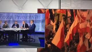 """Piotr Stasiński w programie """"Loża prasowa"""" mówi całą prawdę o tegorocznym marszu niepodległości!!!"""
