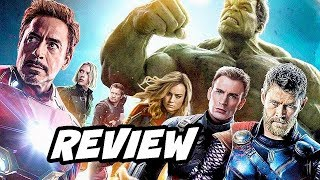 Captain Marvel Avengers Trailer - Early Review NO SPOILERS