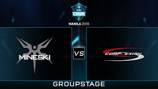 Mineski.Sports5 vs Complexity - Game 2 - ESL One Manila - Philippine Coverage