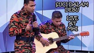Suci Dalam Debu (Live) - Nursyafiq Farhain Saleem & Pudin, TV3 Debut (MHI) Video