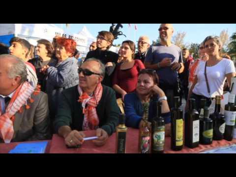 Milas'ta zeytinyağlı yöresel yemekler yarıştı