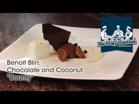 Two Michelin starred pastry chef Benoit Blin creates a chocolate