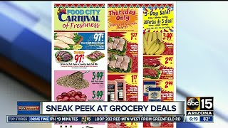 Save money at the grocery store   by following store ads! Smart Shopper has a sneak peek at this week's deals.