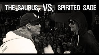 Rap Slam Battles | The Saurus vs. Spirited Sage