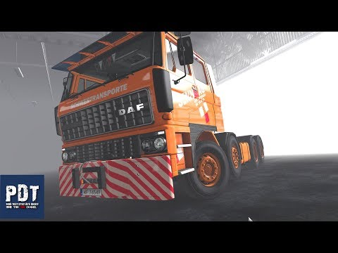 Cummins Nh-220 Engines With Sounds For Daf F241 By Xbs 1.35