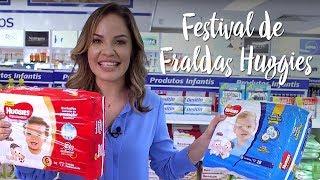 Oferta da Semana - Festival de Fraldas Huggies
