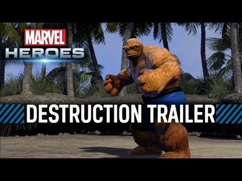 Marvel Heroes: Destruction Trailer