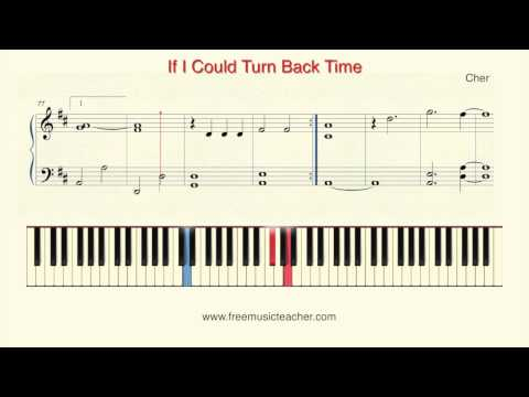 "How To Play Piano: Cher ""If I Could Turn Back Time"" Piano Tutorial By Ramin Yousefi"