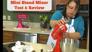 Kitchenaid Mini Stand Mixer Test & Review KSM3311XHT ~ Amy Lea...